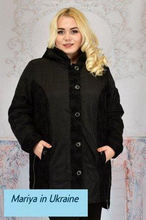 Демисезонная куртка Стефания 003 (62-70) черный