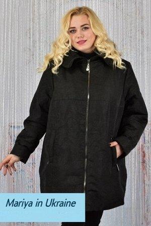 Демисезонная куртка Биата 003 (60-72) черный