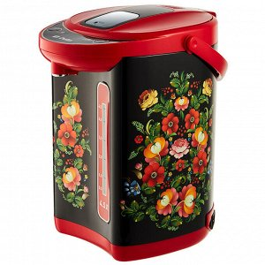 Чайник-термос электрический 1000 Вт, 4,5 л DELTA DL-3034 черный