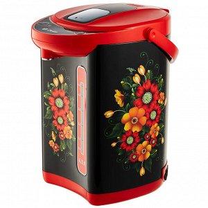 Чайник-термос электрический 1000 Вт, 4,5 л  DL-3035 черный