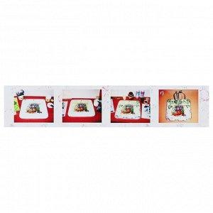 Декупаж, набор, «Аква-Колор»: акриловый грунт, клей для Декупажа, лак акриловый глянцевый, рельефная паста, в картонной коробке