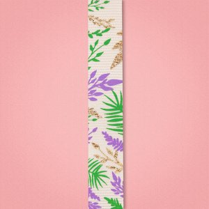 Лента декоративная репсовая «Тропический рай», 1,5 см ? 2 м
