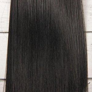 Волосы - тресс для кукол «Прямые» длина волос: 15 см, ширина: 100 см, цвет № 1