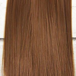 Волосы - тресс для кукол «Прямые» длина волос: 15 см, ширина: 100 см, цвет № 6