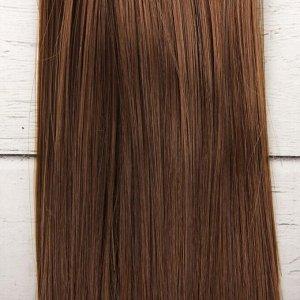 Волосы - тресс для кукол «Прямые» длина волос: 15 см, ширина:100 см, цвет № 8В