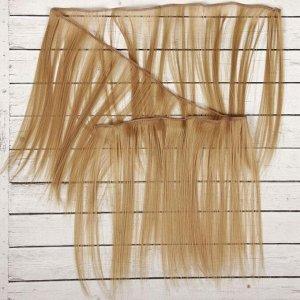 Волосы - тресс для кукол «Прямые» длина волос: 25 см, ширина:100 см, цвет № 16