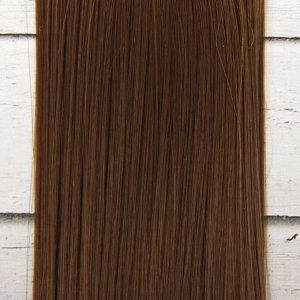 Волосы - тресс для кукол «Прямые» длина волос: 25 см, ширина:100 см, цвет № 6