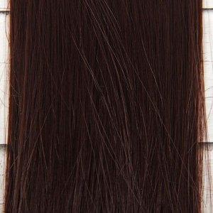 Волосы - тресс для кукол «Прямые» длина волос: 25 см, ширина:100 см, цвет № 6А