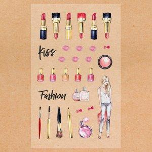 Наклейки пластиковые Fashion