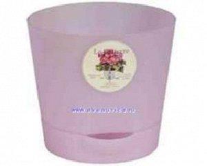 Горшок ORCHID 0,7л розовый с/п Аур