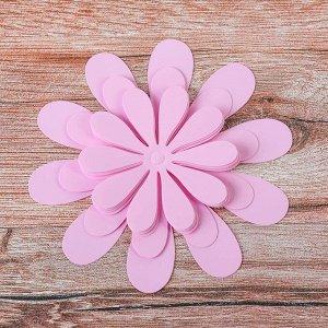 Украшение 3D для творчества «Цветочек», цвета МИКС
