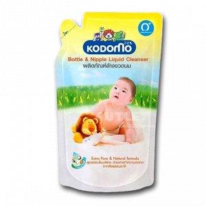 KODOMO Средство для мытья детских бутылок и сосок, мягкая упаковка,( 0+)  700 мл