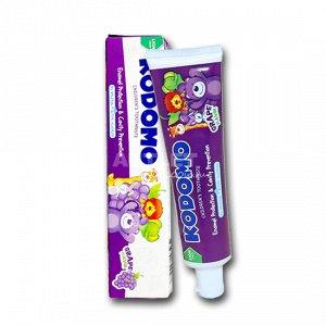 LION KODOMO Детская зубная паста со вкусом винограда, 80гр