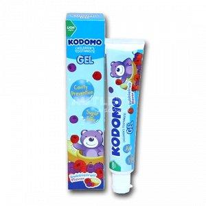 LION KODOMO Детская зубная паста, гелевая, со вкусом ягод, 40гр