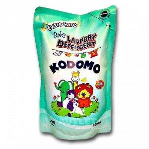 """LION """"Кодомо"""" Жидкое средство для стирки 1000мл для детских вещей (натур.уход) /м.у."""