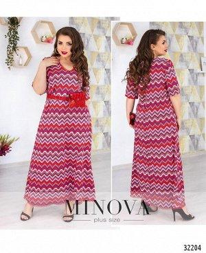 Платье №119-ягодный
