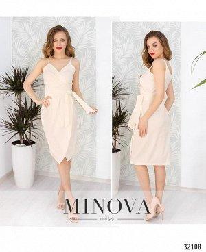 Платье №1056-молочный