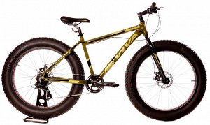 "VIVA FAT FORCE MTB 26""(B) FS 8SP 18"" RA-25-228 (зеленый)"