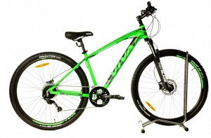 "VIVA Cruiser 520HD MTB 29""(M) FS 27SP 17"" RA-25-232 (черно/зеленый)"