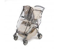 Дождевик для прогулочной коляски с окошком ПВХ АРТ-0011 0144