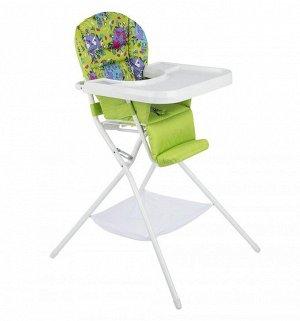 Кресло детское специальное с чехлом Оксфорд 600 КДС.03  бело/салатовый