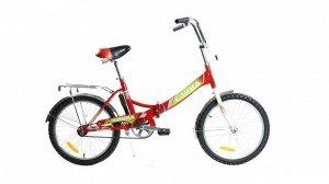 Велосипед Гамма 20 складной  (зеленый,розовый,чёрно-зелён, синий)