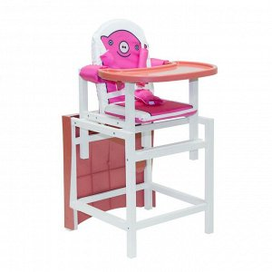 "Стол-стул  PIGGY ""Свинка"" (розовый)"