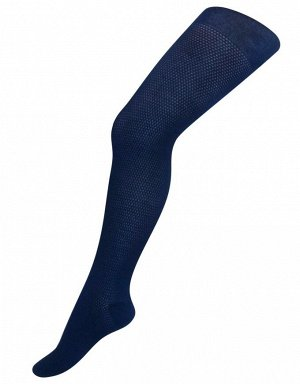 Колготки Para Socks K2D2 Ажур Синий 158-164 *