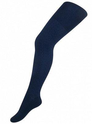 Колготки Para Socks K2D4 Ажур Синий *