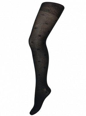 Колготки Para Socks K3D4 Ажур Черный *