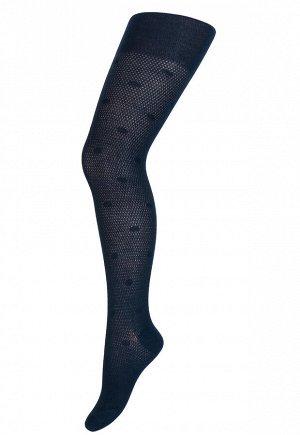 Колготки Para Socks K3D4 Ажур Синий *