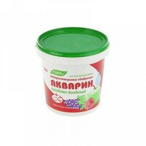 """Удобрение водорастворимое минеральное """"Акварин"""" плодово-ягодный, 1 кг"""