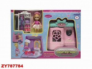 Кукла в наборе ZY787784 602A (1/24)