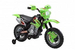 Мотоцикл на аккумуляторе для катания детей JT014 (зеленый)