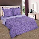 Постельное белье - «Византия фиолетовый» - поплин 2 спальный