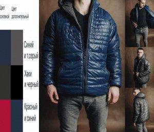 Куртка мужская двусторонняя (t до -5)