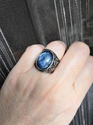 Кольцо с кианитом (Израиль) фото внутри!