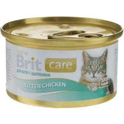 (2040) Все необходимое для любимых питомцев. Акция! — Корма Brit влажные для кошек — Корма