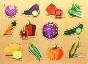 Вкладыши Овощи