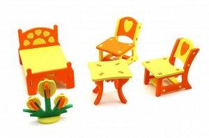 Набор мебели для кукол Спальня (EVA)
