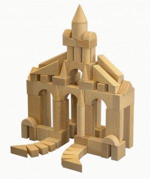 Конструктор деревянный 70 дет. не окрашенный