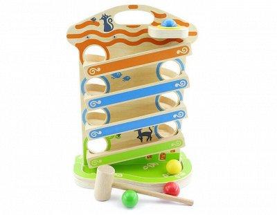 Мир развивающих игрушек Wood Toys™ — Стучалки и Модули — Развивающие игрушки