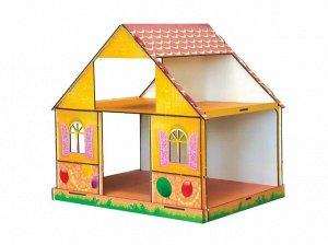 Кукольный домик Girl's Club цветной