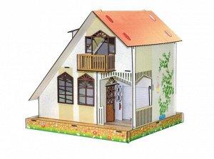 Кукольный домик ДУПЛЕКС цветной