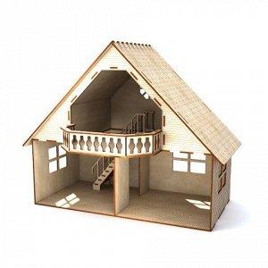 Кукольный домик с балконом