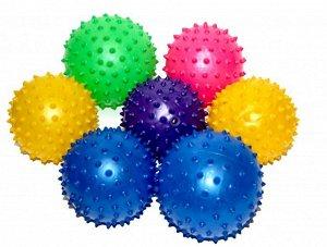 Мяч с шипами резиновый