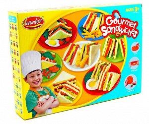 """Набор пластилина """"Сэндвичи"""""""