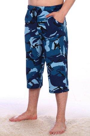 Бермуды мужские, синий