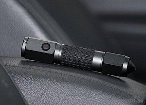 Фонарик Xiaomi LEAO Car Safety Hammer