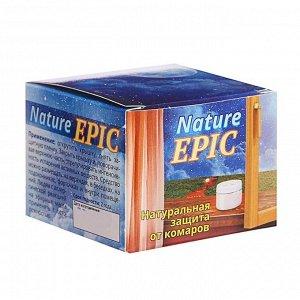 Гель-репеллент от комаров Nature Epic, на эфирных маслах, 50 мл